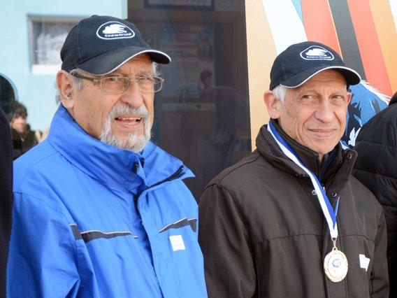 Talal (l.) und Tark Aboul Zahab (r.) aus Lybien.